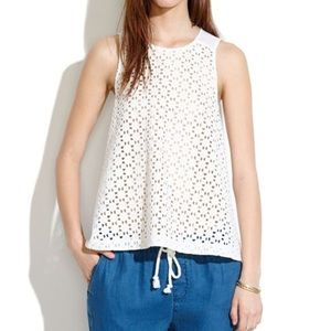 Madewell Starstitch Eyelet Top 10